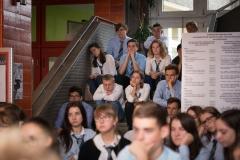 Marian Opania, Wolność Czytania 2017, Chorzów, AZSO, Akademicki Zespół Szkół Ogólnokształcacych