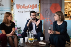 Wolność Czytania 2020 - Kacper Łukowicz, Marta Banaś, SŁOWAk, Tomasz Pyrcik, Maria Smorczewska
